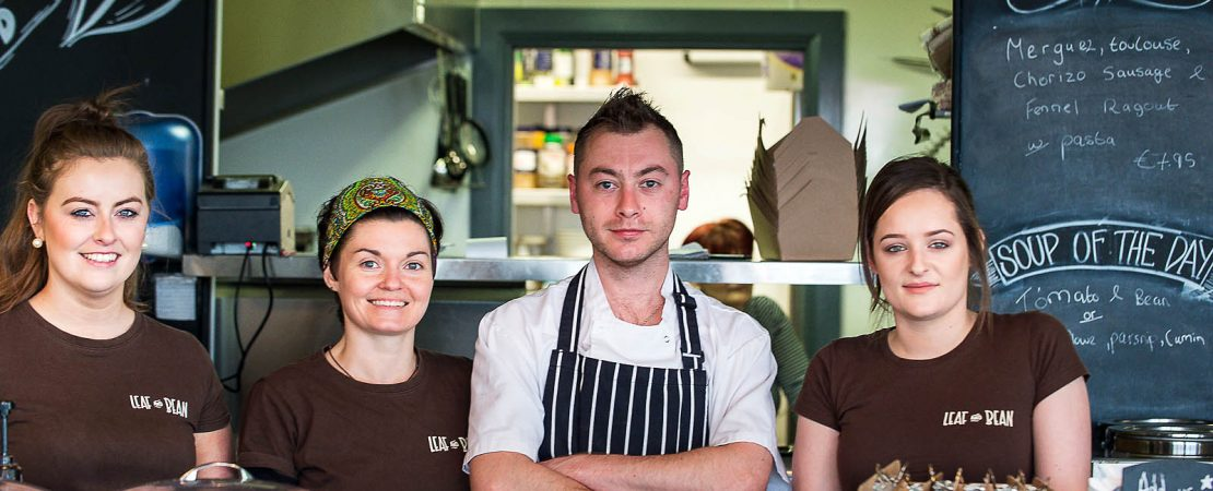 leaf and bean cafe staff tuam
